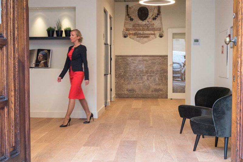 Kantoorruimte Amsterdam centrum Nieuwezijds entree